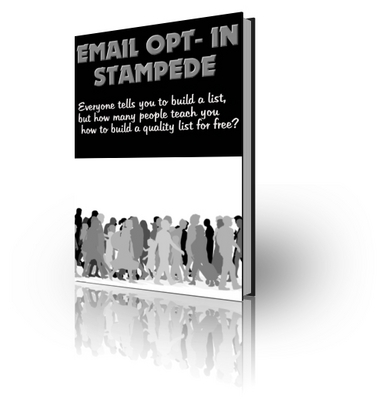 Product picture Email Opt-In Stampede (PLR)