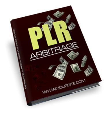 Product picture PLR Arbitrage (PLR)