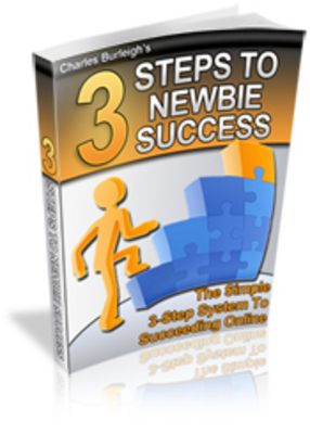 Product picture 3 Steps To Newbie Success (PLR)