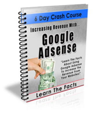 Product picture Increasing Revenue With Google Adsense (PLR)